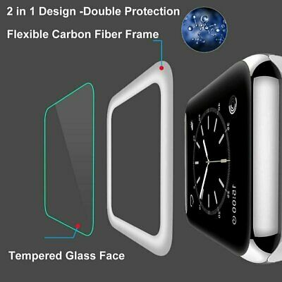 Apple Watch Series 4/3/2/1 3D Full Tempered Glass Screen Protector 38/42/40/44mm