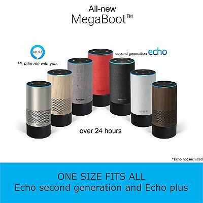 All-new MegaBoot ( WORKS WITH ECHO 2nd GENERATION AND ECHO PLUS) | With over 24