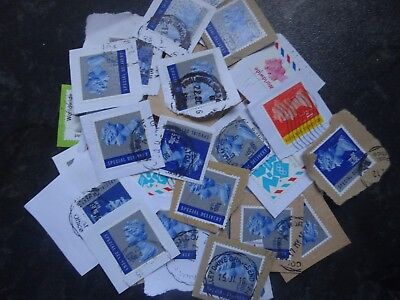 31 Special Delivery Stamps and several others all franked