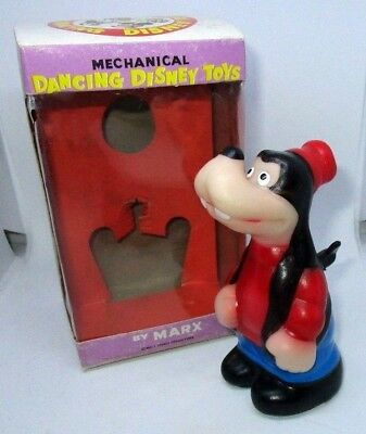 Goofy Dancing Disney Toy by Marx with box  - RARE VINTAGE CLOCKWORK TOY
