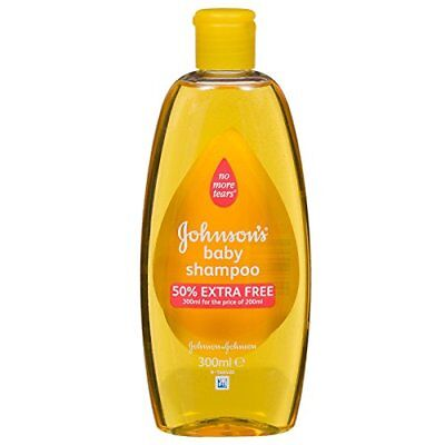 JOHNSON'S BABY SHAMPOO MILD 6 x 300ML
