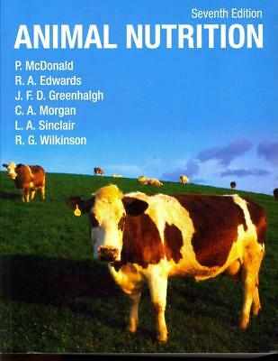 Animal Nutrition by Peter McDonald (English) Paperback Book Free Shipping!