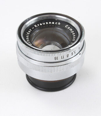 50Mm 50/4 Schneider Componon Enlarging Lens, ~24Mm, Haze, Fungus/182922