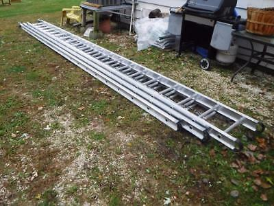 Werner 560-3 60 Ft 250 lb. Rated 3 Piece Aluminum Extension ladder Twist-Proof