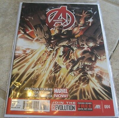 Avengers Vol 5 #4 NM Jonathan Hickman Marvel NOW