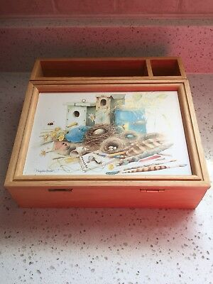 Marjolein Bastin Hallmark Nature's Sketchbook Desk Box Organizer