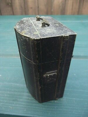 Antique Brass Box in the form of a Chest or Trunk - Cigarette Holder / Dispense?
