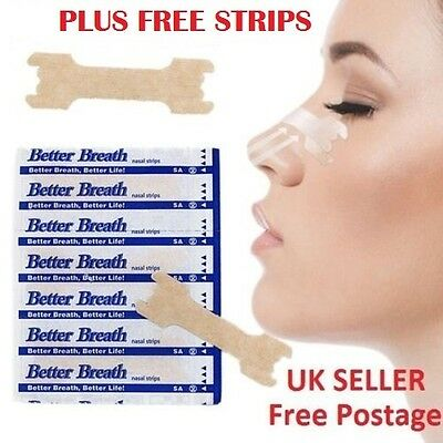 FREE DELIVERY- Nose plasters - strips for snoring - congestion, EU- Breathe easy