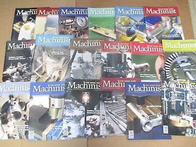 Home Shop Machinist Magazines  18 Issues Mostly 2013,2014, 2015 + Two From  2007