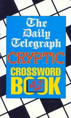 Daily Telegraph Cryptic Crossword Book 42: ... by Telegraph Group Limi Paperback