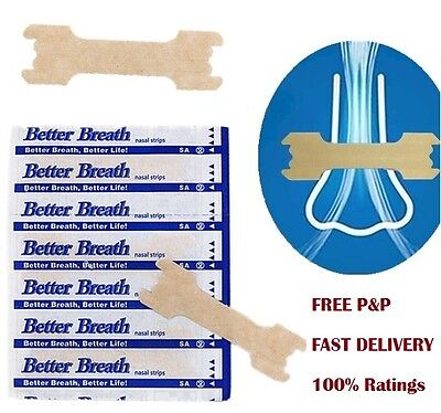 Drug-Free Nasal Strips NotMenthol Stop Snoring Great Anti Snore Sleeping Aid