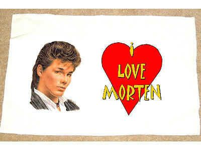 I LOVE MORTEN HARKET PILLOWCASE A-HA aha