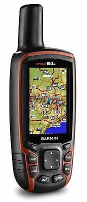 Garmin GPSMAP 64s GPS & GLONASS Bluetooth or ANT+ 3-axis Handheld 010-01199-10