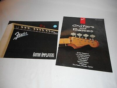 Fender Guitar And Amplifier Books 1993 1995