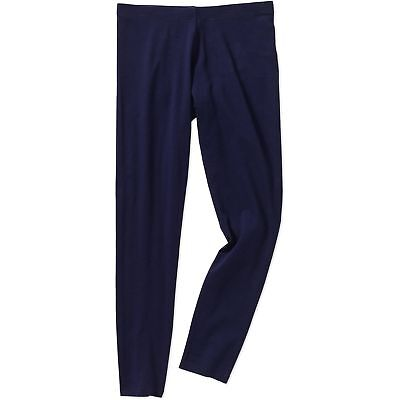94ea229492a6f5 FADED GLORY GIRL'S Essential Solid Leggings Navy Large 10/12 - $3.99 |  PicClick
