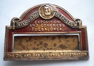 International Petroleum Exposition and Congress Badge
