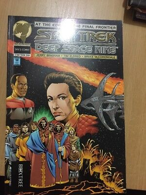 Malibu Daxs Comet Star Trek Deep Space Nine By Jerry Bingham Graphic Novel