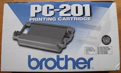Brother PC-201 Printing Cartridge  Sealed, New in Box