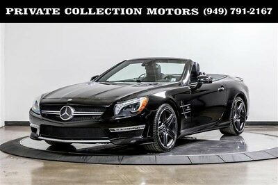 2013 Mercedes-Benz SL-Class Base Convertible 2-Door 2013 Mercedes-Benz SL 63 AMG SL 63 AMG SL-Class 1 Owner Clean Carfax