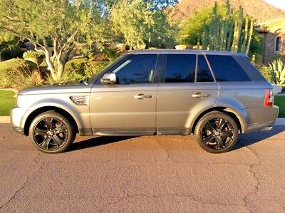 2010 Land Rover Range Rover Sport luxury, supercharged AMAZING TRUCK- RUNS GREAT-No accidents no rust clean AZ vehicle no issues
