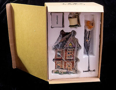 D56 New Snow Village Halloween Boo Mansion Is From Time To Celebrate Set Of 4