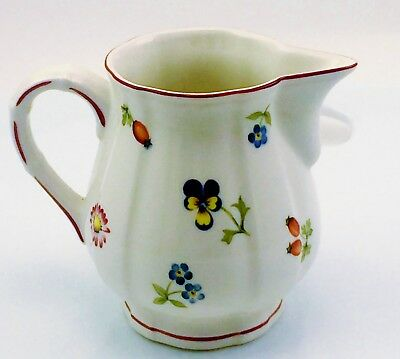 Villeroy & Boch Petite Fleur Creamer Luxembourg Original Owner Have Many Items