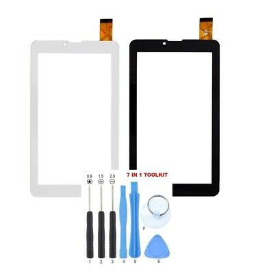 "7/"" Inch WHITE Touch Screen Digitizer Glass For YDT1273-A1 287 GT706 US"
