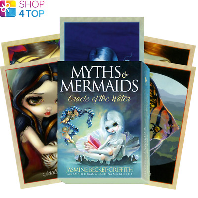 Myths & Mermaids Orakel Karten Deck Esoteric Fortune Telling Blue Angel Neu