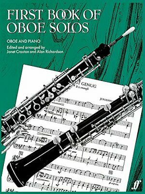 First Book of Oboe Solos: Oboe & Piano by Alan Richardson Paperback Book The