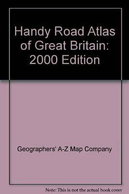Handy Road Atlas of Great Britain: 2000 Edi... by Geographers' A-Z Map Paperback