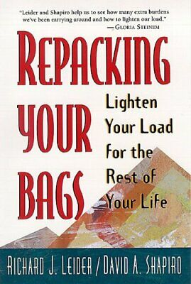 Repacking Your Bags: Lighten Your Load for the... by Shapiro, David A. Paperback
