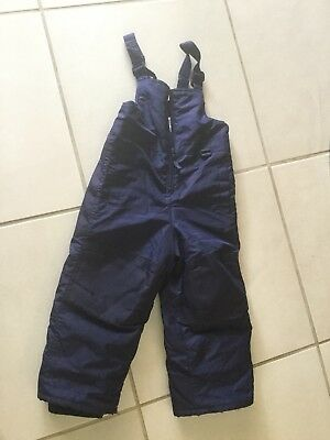 Toddlers Snowpants, Size 3 T, CIRCO, Navy Blue Bibs!