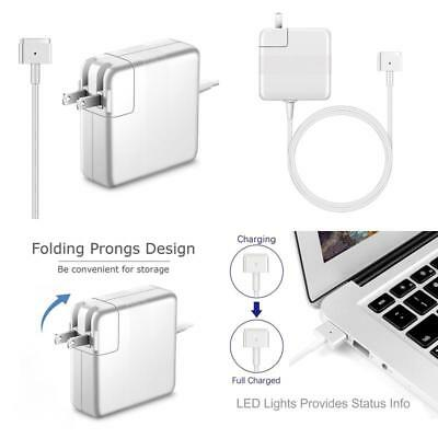 Macbook Air Charger, Mxeony AC 45W Magsafe2 (T-Tip) Connector Power Adapter Char
