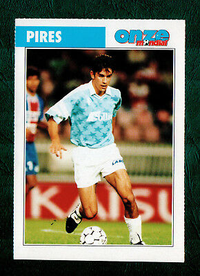 Robert Pires 1994 Rookie French Issue Onze Mondial Arsenal & France
