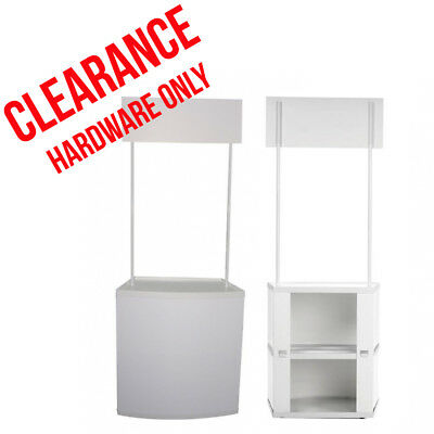 Promotional Counter HARDWARE ONLY -Popup/Portal/Exhibition Stand
