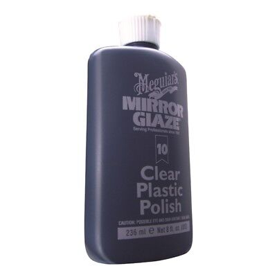 MEGUIARS INC M1008 Mirror Glaze Clear Plastic Polish