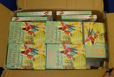 Job Lot Of 70 Brand New Unread Sophie Kinsella Shopaholic Abroad Books Rrp £500+