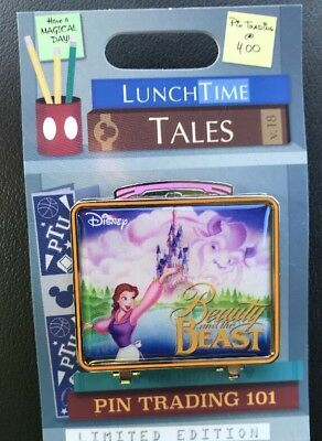 Disney Pin of the Month Lunch Time Tales Beauty And The Beast LE 1500 New 2018