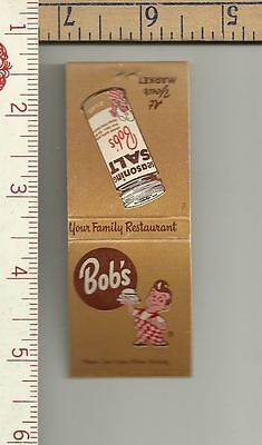 1 Bob's Big Boy Book of matches gr8 graphics see scan