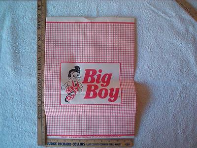 1 Big boy Bag approx 12 x 17 inches  NOS Framable
