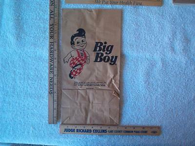 1 Big boy Bag approx 7 x 13-1/2 inches  NOS Framable style 1
