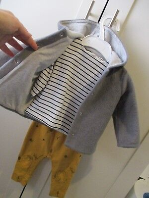Mamas and Papas 3 piece outfit - size 3-6 months