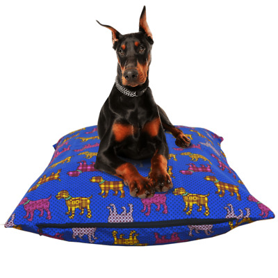 Large/XL Dog Bed/Crate Cover With Waterproof Liner Replacement Zipper Closure