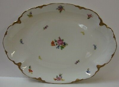 """Warwick BOUQUET DRESDEN SCALLOPED 15"""" Oval Platter BEST More Items Available"""