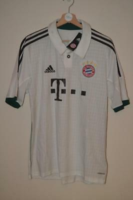 Bnwt Bayern Munich 2013-2014 Adidas Away Shirt Large Mens - Tags Worn