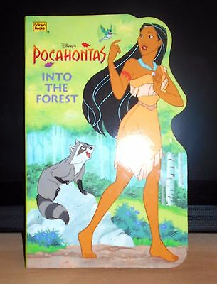 Disney/Pocahontas/Book/Child/Toddler/Birthday/Stocking/Pressie/Gift/Xmas/Easter/