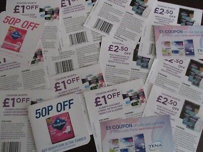 £24 Worth Of Assorted Money Off Coupons