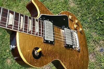 Gibson Goldtop 1957 first month with black parts 100% original
