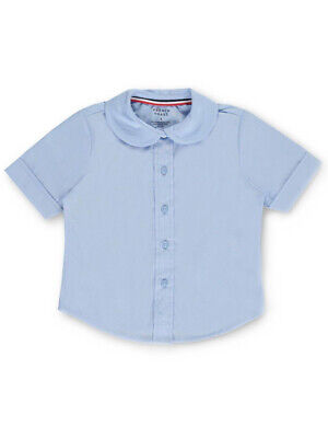 French Toast Little Girls' Toddler S/S Peter Pan Fitted Shirt (Sizes 2T - 4T)