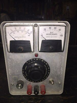Used Vintage Rare~ General Radio Type 200B Metered Variac